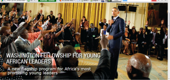 President Obama Announces the Washington Fellowship for Young African Leaders