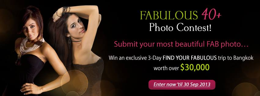 Fabulous 40+ Photo Contest: Win a Trip to Bangkok & Awards worth over $30,000