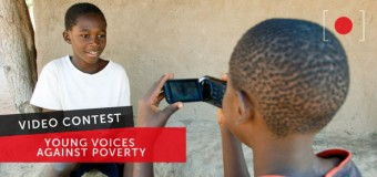 'Young voices against poverty' 2013 Video Contest: Win a trip to Brussels for EDD'13