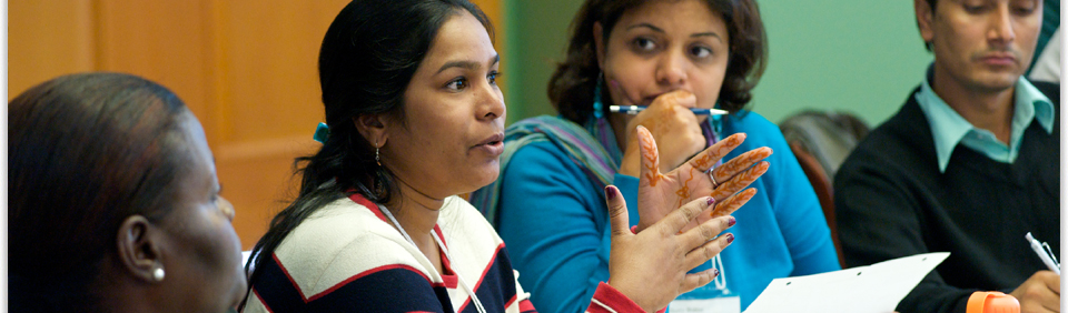 2014 Global Change Leaders Program for Emerging Women Leaders from the Global South