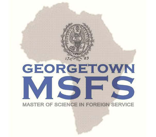 Georgetown University MSFS Scholarship for Students from Africa 2014