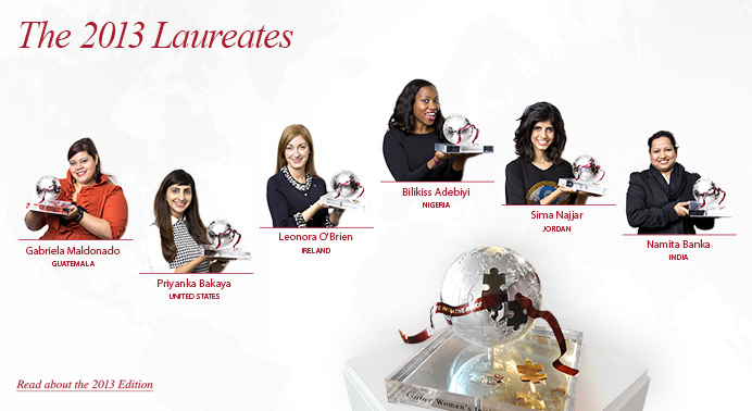 2014 Cartier Women's Initiative Awards – International Business Plan Competition