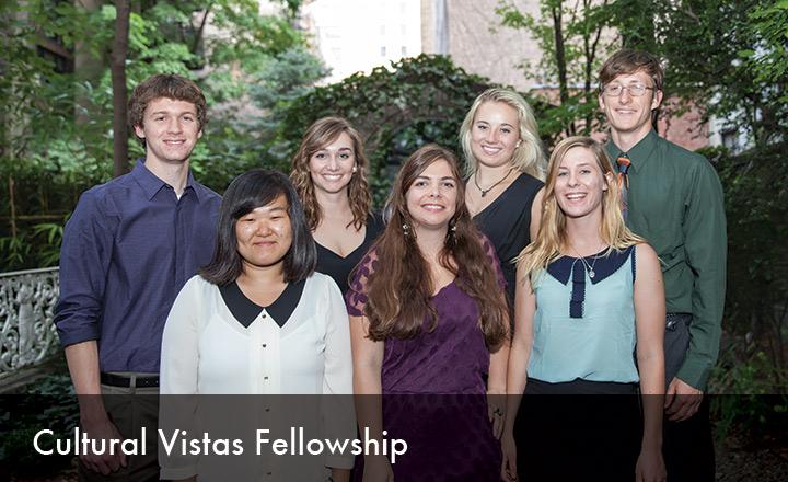 2014 Cultural Vistas Fellowship for U.S. University Students