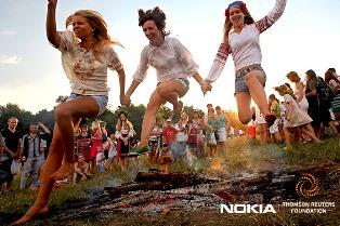Thomson Reuters Foundation-Nokia Photo Award 2014