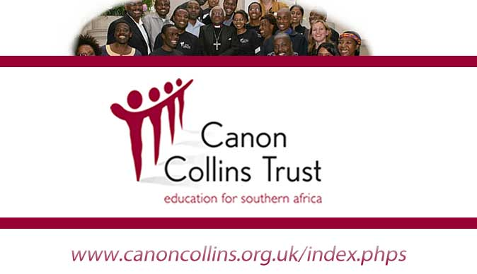 2014 Canon Collins Scholarship for Masters Study in the UK