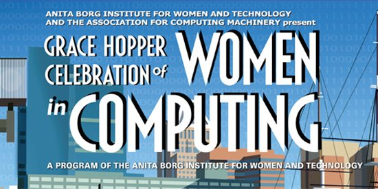 GHC Scholarship for Students to attend the Grace Hopper Celebration, Arizona 2014