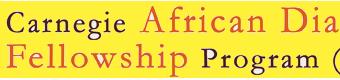 2014 Carnegie African Diaspora Fellowship Program