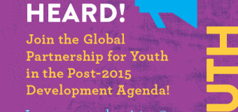 Apply to Join the Global Partnership for Youth in the Post-2015 Development Agenda