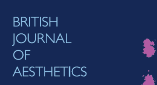 Apply now for 2014 Cover Design Competition for the British Journal of Aesthetics