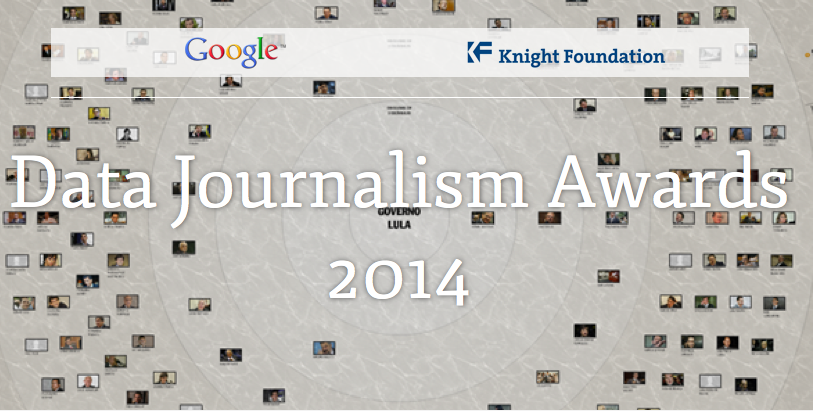 Global Editors Network – Data Journalism Award 2014 for Journalists Worldwide
