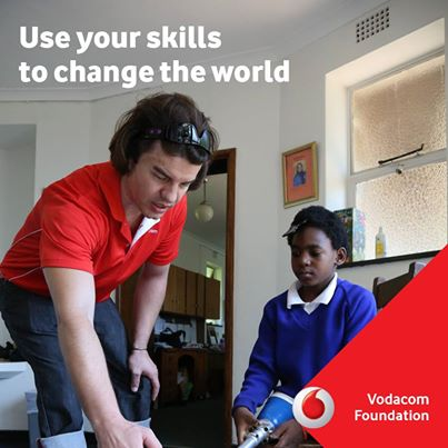 Vodacom Change the World Programme for South Africans 2014/2015