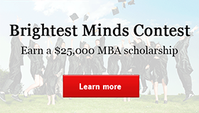 2014 GMAT Tutor Brightest Minds Scholarship Competition for Prospective MBA or EMBA students