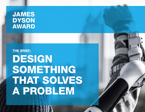 Apply for the 2014 James Dyson Product and Industrial Design Student Award