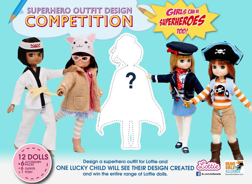 2014 Lottie Superhero Outfit Design Competition