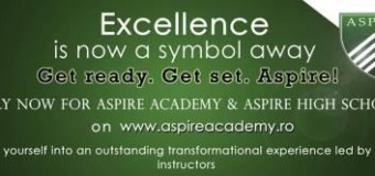 Apply for the 2014 Aspire Academy & High School in Romania