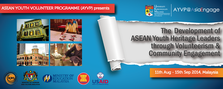 Apply for the ASEAN Youth Heritage Leaders Programme in Malaysia