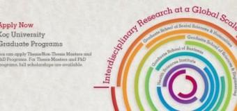 Full Scholarships for Graduate Programs at Koç University 2014