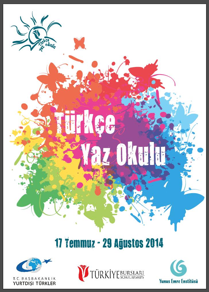 Turkiye Scholarships for the 2014 Turkish Summer School Program in İstanbul