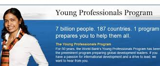 Apply – World Bank Young Professionals Program 2015