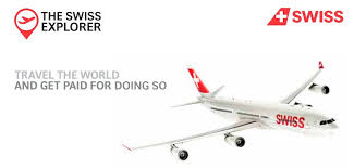 Apply now as a SWISS Explorer and Travel all around the World