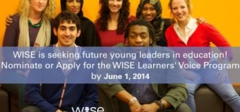 2014-2015 WISE Learners' Voice  Program in Qatar and Spain (All Expenses Covered)!