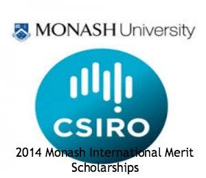 2014 Monash International Merit Scholarship