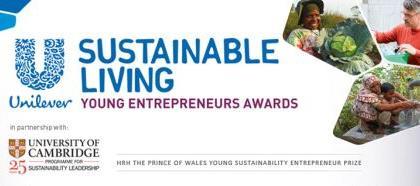 Unilever Sustainable Living Young Entrepreneurs Award 2014