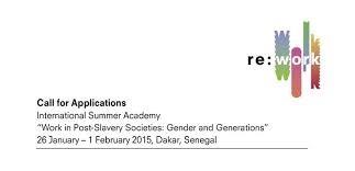 Apply for the 2015 International Summer Academy – Dakar, Senegal
