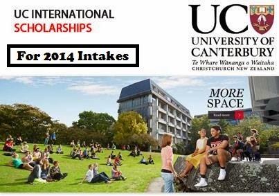 University of Canterbury International First Year Scholarship (Worth $10,000 – $20,000)
