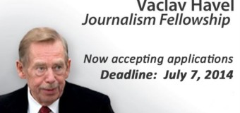 Vaclav Havel Journalism Fellowship Programme 2014/15