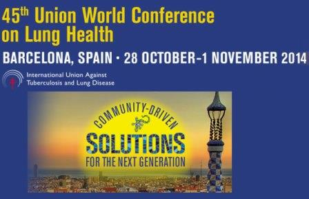 45th Union World Conference on Lung Health – Barcelona, Spain (Fully-funded)