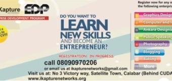 iKapture Networks in Calabar, Nigeria Launches the Enterprise Development Program