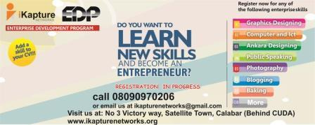 iKapture Networks in Calabar, Nigeria Launches the Enterprise Development Program