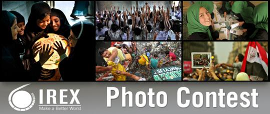 "IREX ""Make a Better World"" Photo Contest!"