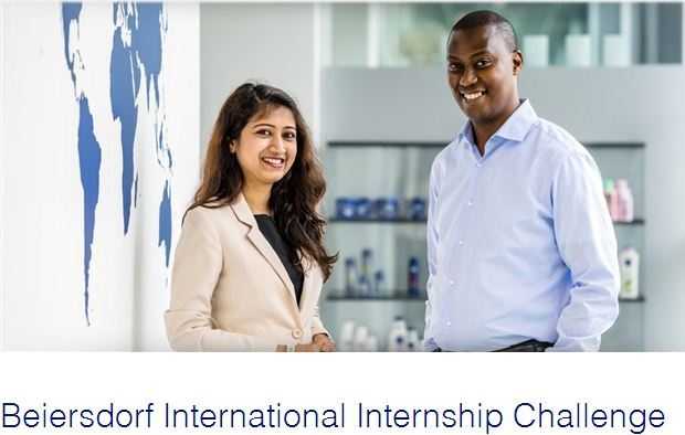Beiersdorf International Internship Challenge – Win a fully-funded trip to Hambourg