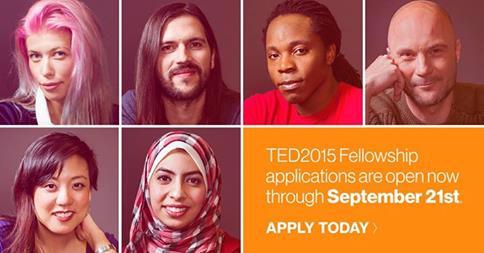 TED Fellowship Program 2015 now open!