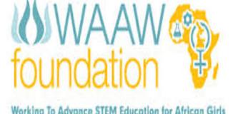 2015 WAAW Scholarship for African Women in STEM Fields