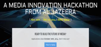 Al-Jazeera's Media Innovation Hackathon (All-Expense Paid)