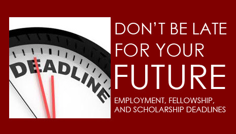 Top 20 Global Opportunities with Deadlines Approaching in September 2014