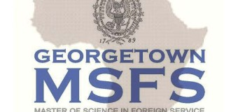 MSFS Full-tuition Scholarship for Africans to Study at Georgetown University
