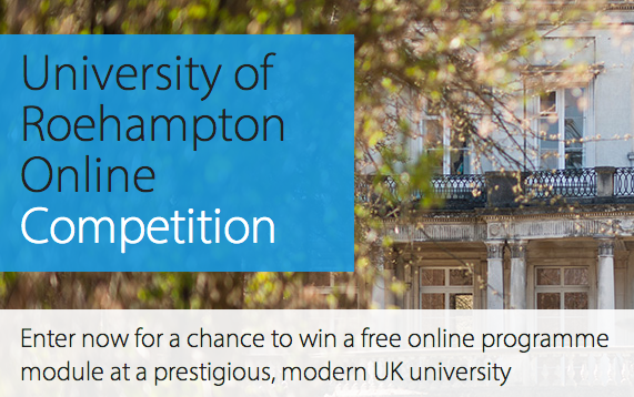 University of Roehampton Online Competition – Win a $1,111 Online Programme Module
