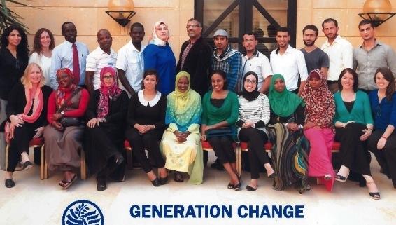 Generation Change Regional Training for Middle East – Istanbul, Turkey 2014