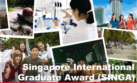 Study in Singapore – 2015 Singapore International Graduate Award (SINGA)