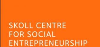 Skoll Scholarship to Study Social Entrepreneurship at University of Oxford