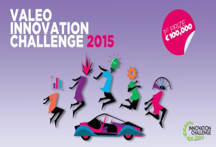 Valeo International Innovation Challenge for Students 2015 – Win €100,000!
