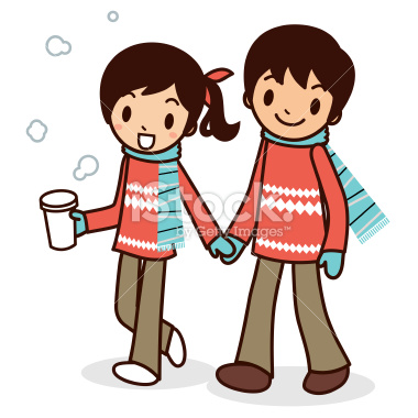 stock-illustration-11628855-happy-young-couple-taking-a-stroll