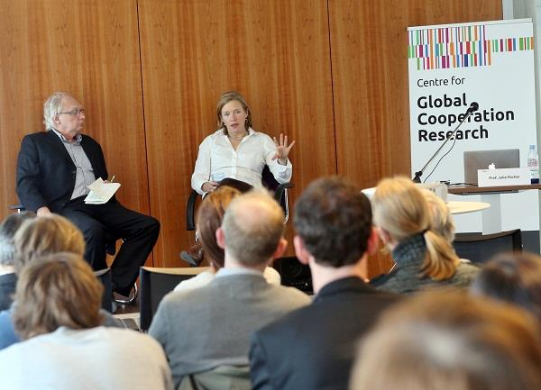 Autumn 2015 Fellowship at the Centre for Global Cooperation Research