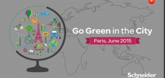 """""""Go Green in the City"""" 2015 with Schneider Electric – Win a Career & Travel Opportunity!"""