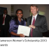 Cameroon Women's Scholarship 2014 by the British High Commission