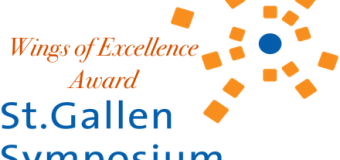 St. Gallen Symposium &Wings of Excellence Award- EUR 20,000 In Prizes